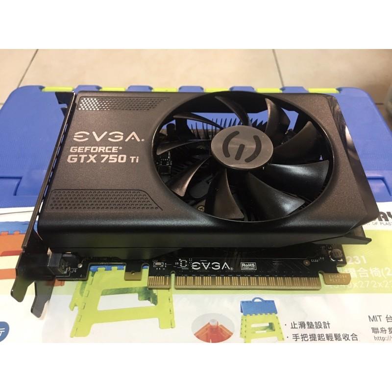 艾維克 EVGA Geforce GTX750ti 2G 顯示卡 GTX 750ti DDR5 2G