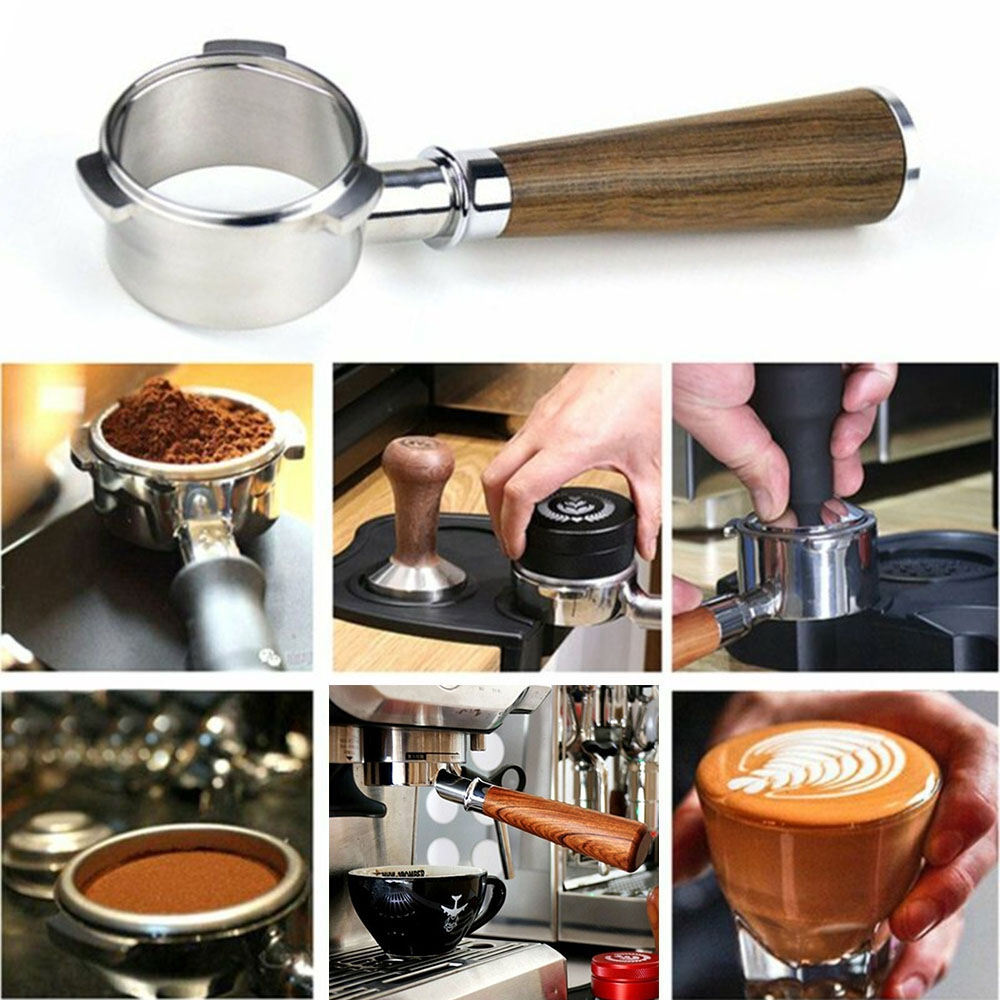 用於Breville 870/880/878過濾器的54mm咖啡無底Portafilter
