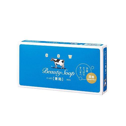 日本牛乳香皂茉莉清香85g X3【愛買】