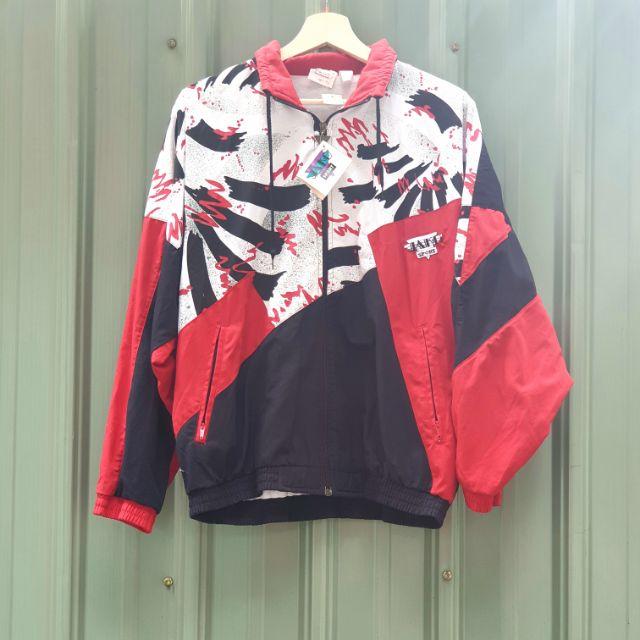 全新庫存品 德國 vintage Jako sport 90's 古着運動外套
