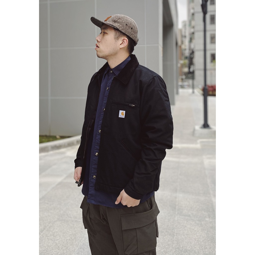 Carhartt ❙ Duck Detroit Jacket 底特律 外套 黑