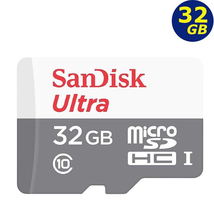 SanDisk 32GB 32G microSDHC Ultra 100MB 灰 microSD SD C10 記憶卡