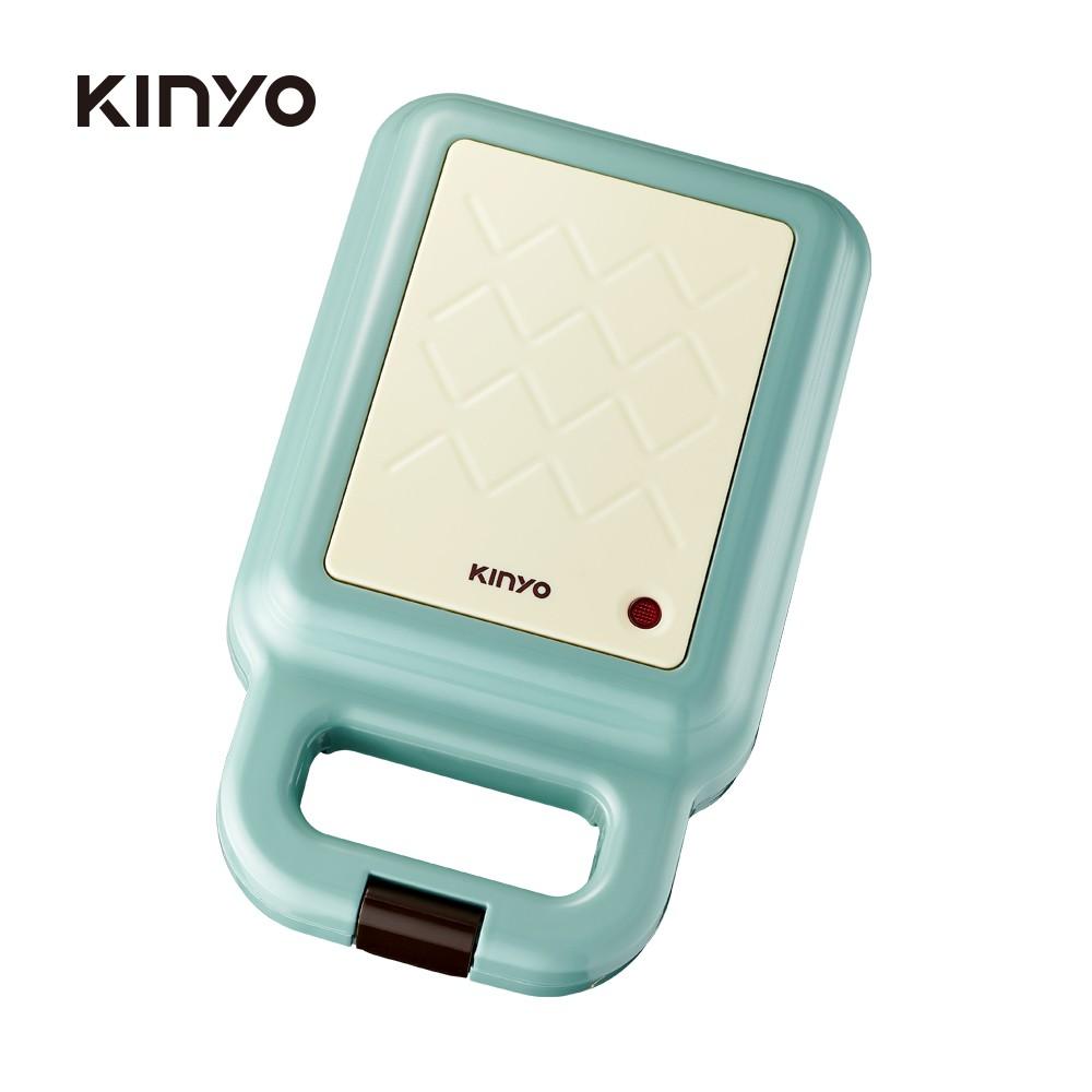 【KINYO】多功能三明治機/點心機/鬆餅機 藍色 (SWM-2378BU)