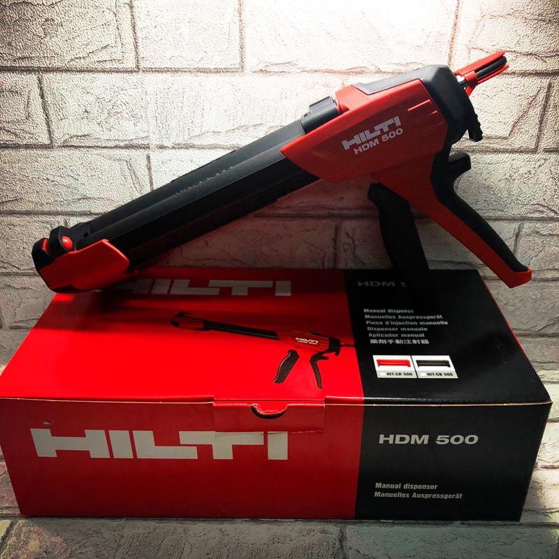 【小跩賣場】  HILTI 喜利得 HDM 500 附 套管HIT-CB500 植筋膠槍 植筋膠 注射器 喜得釘