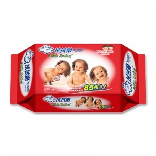 拭拭樂 超純水嬰兒濕紙巾(85抽x24包)