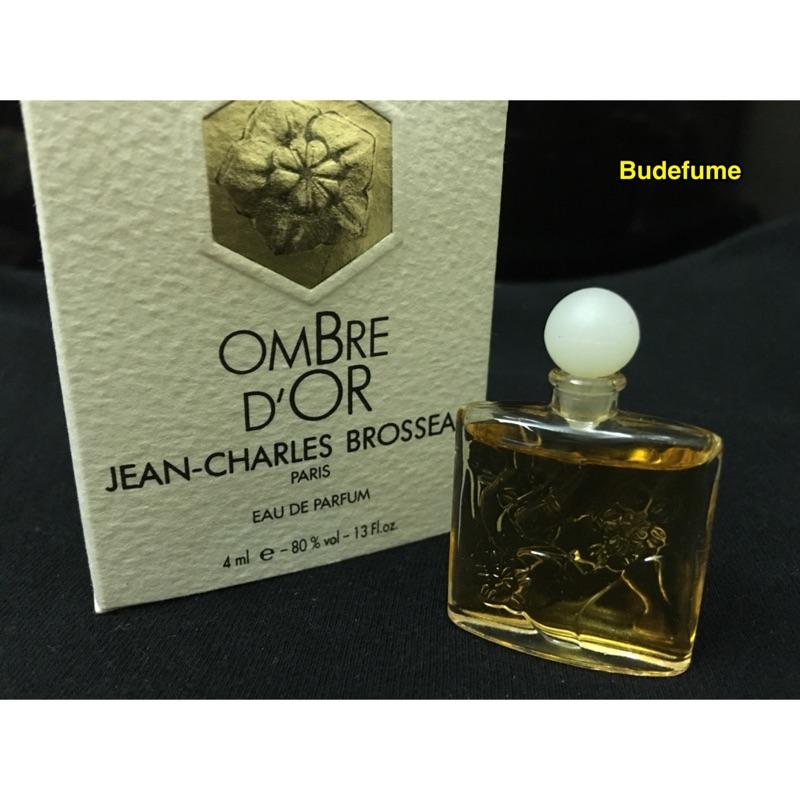 Jean Charles Brosseau Ombre D'Or 金玫瑰女性淡香精迷你瓶4ml