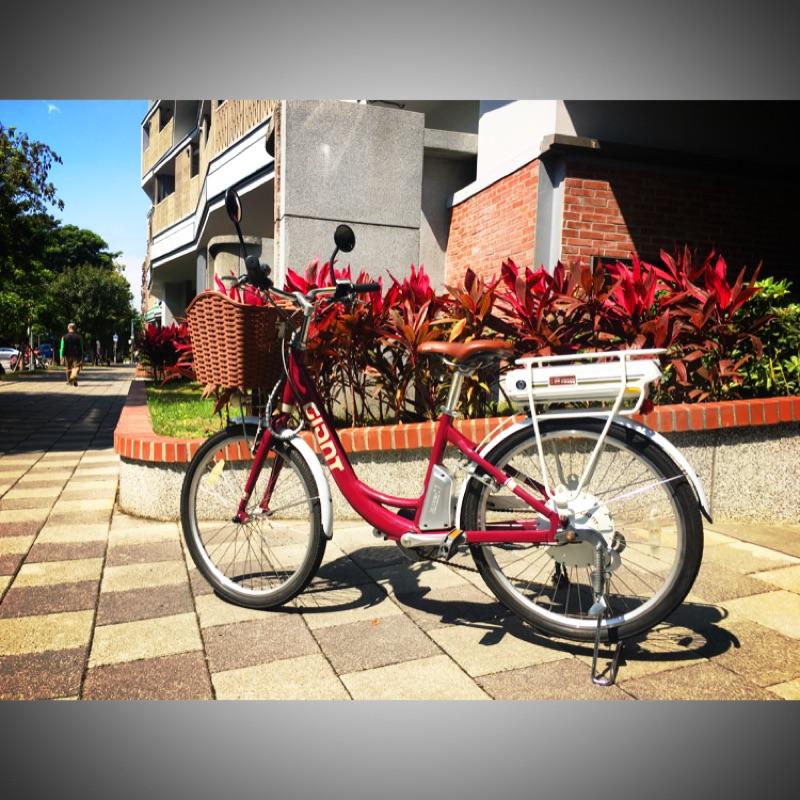 捷安特Giant九成新電動腳踏車EA401電動自行車