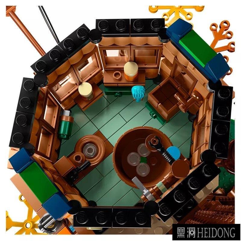 【黑洞現貨好品】LEGO樂高21318樹屋IDEAS經典構思系列創意拼裝禮物順豐好盒現貨【HEIDONG】