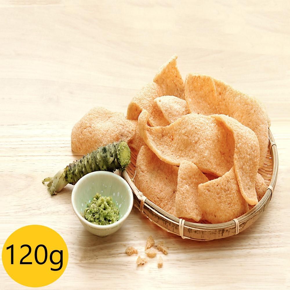 蝦米工坊-蝦米彎菓-安平蝦餅-蝦餅-哇沙米大包裝