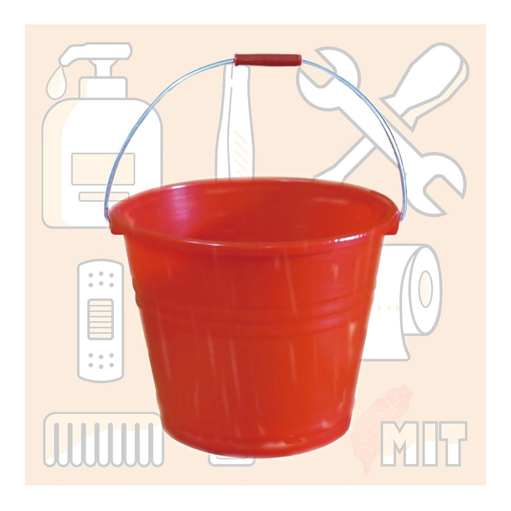 🈹金鑫生活⚠️免運費-含稅⚠️6入 通吉 #061 #062 #066 強力水桶身 儲水桶 橘色桶 塑膠桶 鐵把水桶
