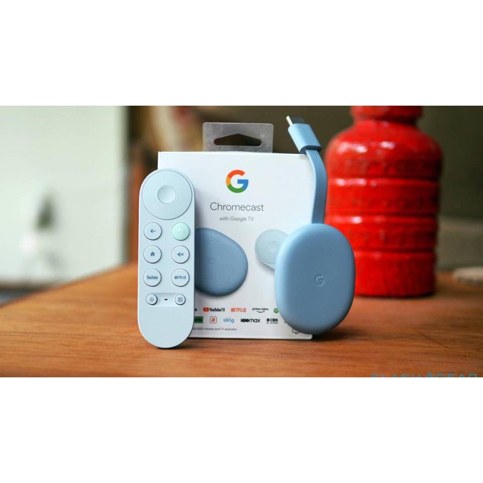 【樂活先知】《代購》美國 Chromcast Google TV 4K HDR 藍色 (給 elin0430)