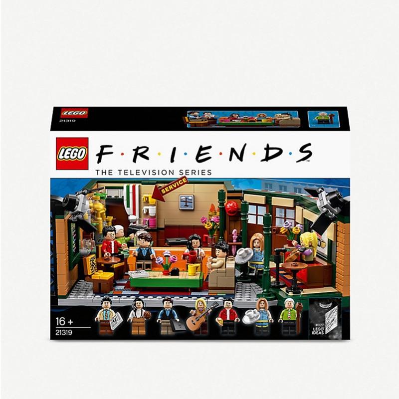 正版最低價 LEGO 樂高 21319 IDEAS 六人行 中央公園咖啡館