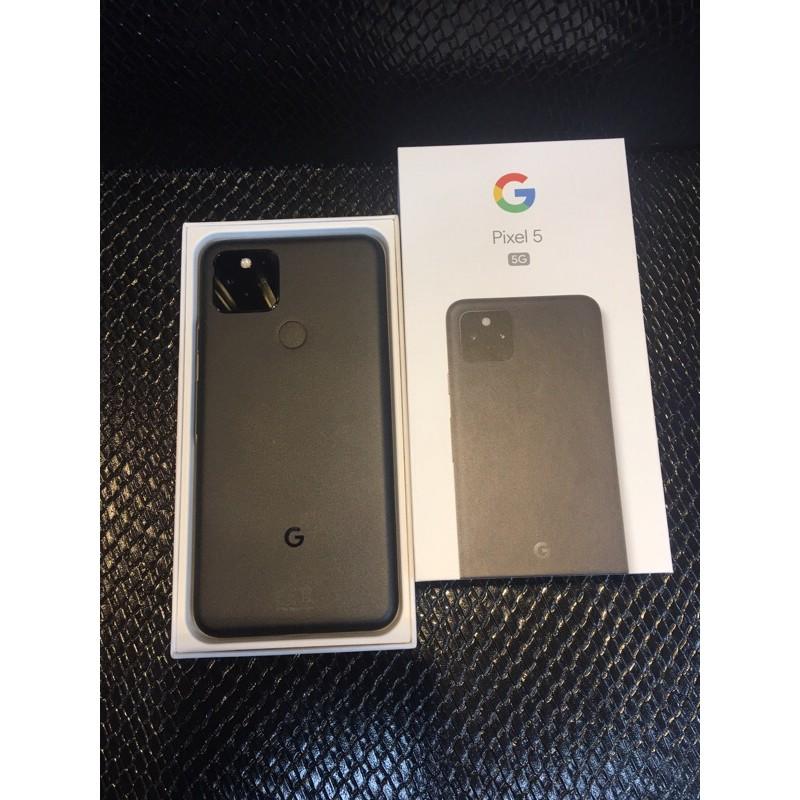 Google pixel5 8+128g 黑色5G