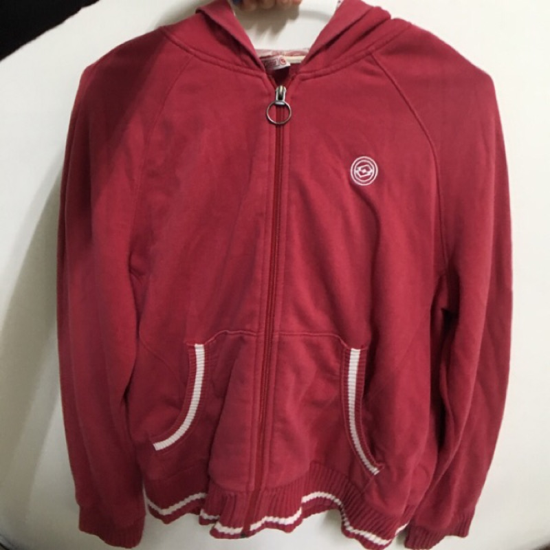 Lotto 紅色外套