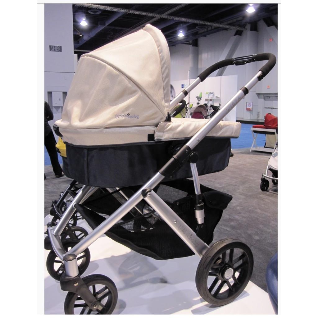 二手 明星御用手推車Uppababy 旗艦款Vista 寶寶提籃雙向 高景觀 購入價49800 嬰兒手推車