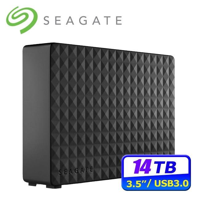 限自取 Seagate 新黑鑽 14TB USB3.0 3.5吋外接硬碟