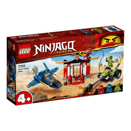LEGO 樂高 NINJAGO 旋風忍者系列 - 71703 風暴戰鬥機之戰
