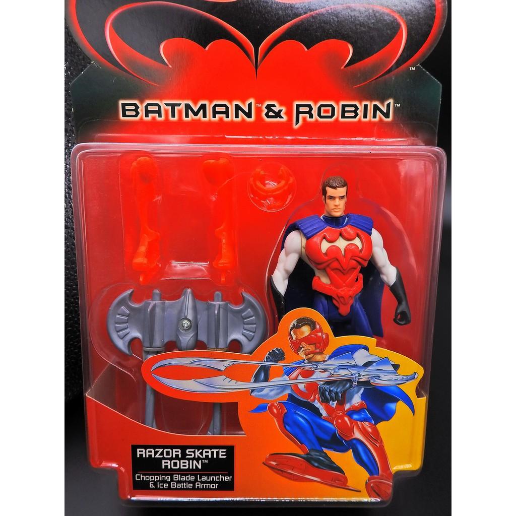 Kenner 1997 BATMAN 4 急凍人 蝙蝠俠與羅賓 RAZOR SKATE ROBIN J136-2