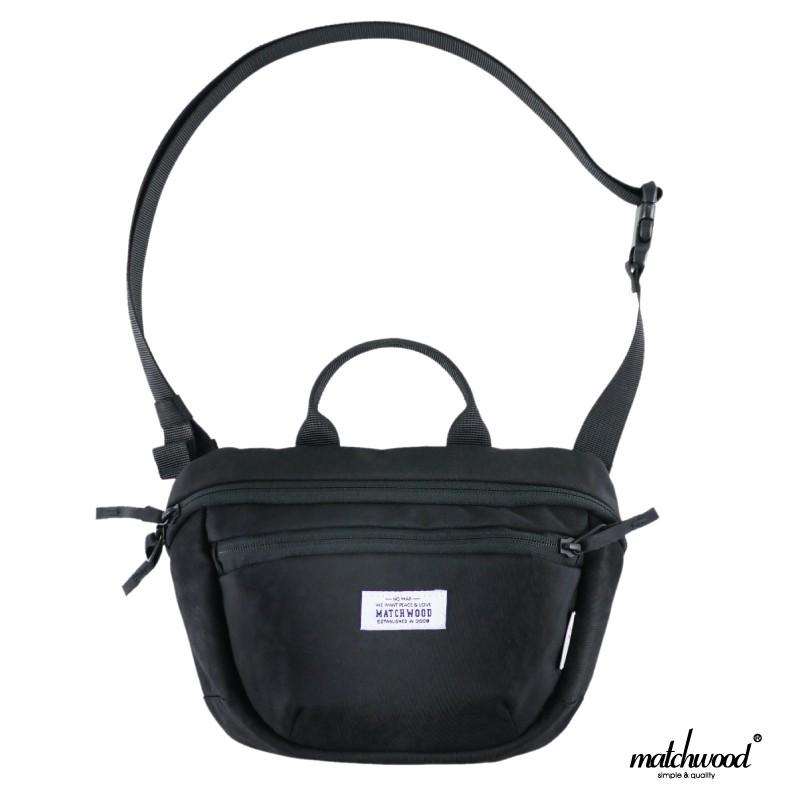 Matchwood Portable Mini 斜背腰包 全黑款 NIGO風格可參考 官方賣場