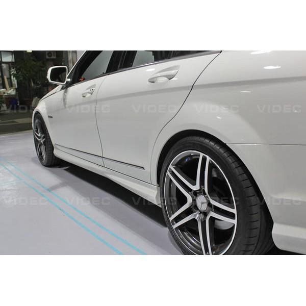大台北汽車精品 W204 C300 C350 C63 AMG 樣式 前保桿 側裙 後保桿 另有 E90 E92 F10