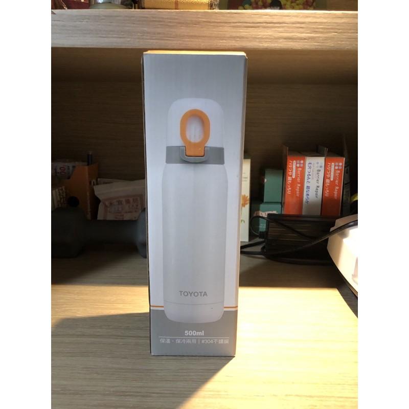 全新 TOYOTA 不鏽鋼保溫壺 保溫瓶 水瓶  500ml