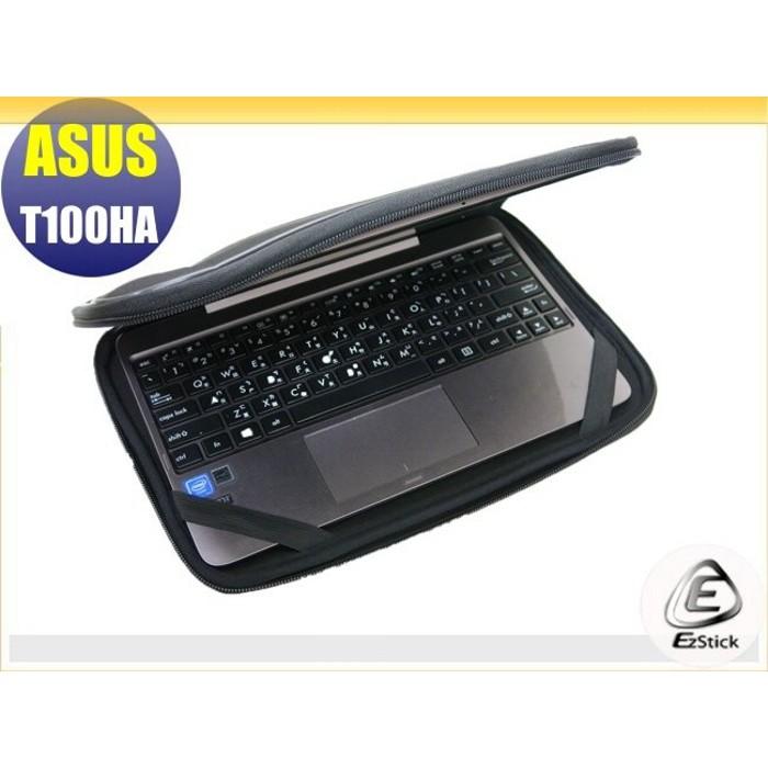 【Ezstick】ASUS T100 T100HA 10吋寬小(1620) NB保護專案 三合一超值防震包組