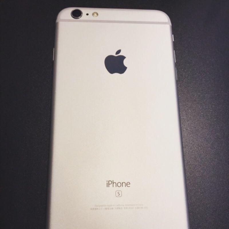 銀色 iPhone 6S Plus 64GB 99%近全新