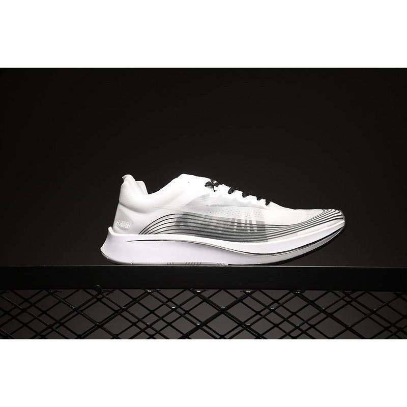 Nike Lab Zoom Fly SP 網紗 AA3172-101 訓練 馬拉松 黑白 慢跑鞋