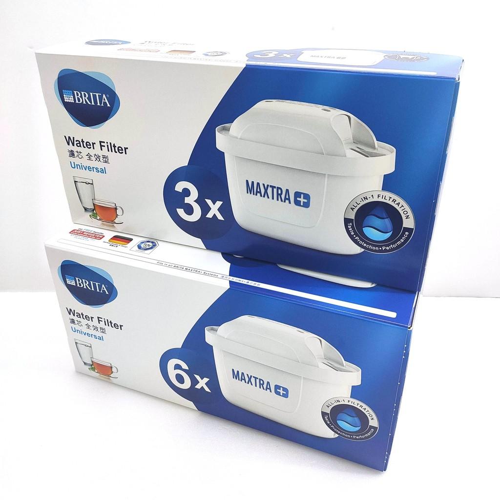 BRITA MAXTRA Plus 全效濾芯 3入 6入 德國製 濾心可用4週/100公升