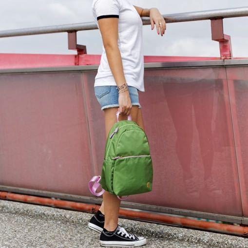 ☆SUMDEX☆人體工學設計 休閒後背包 網路最低價 樂遊遊 輕旅行 後背包 休閒 時尚 流行 簡約 770LS 綠色