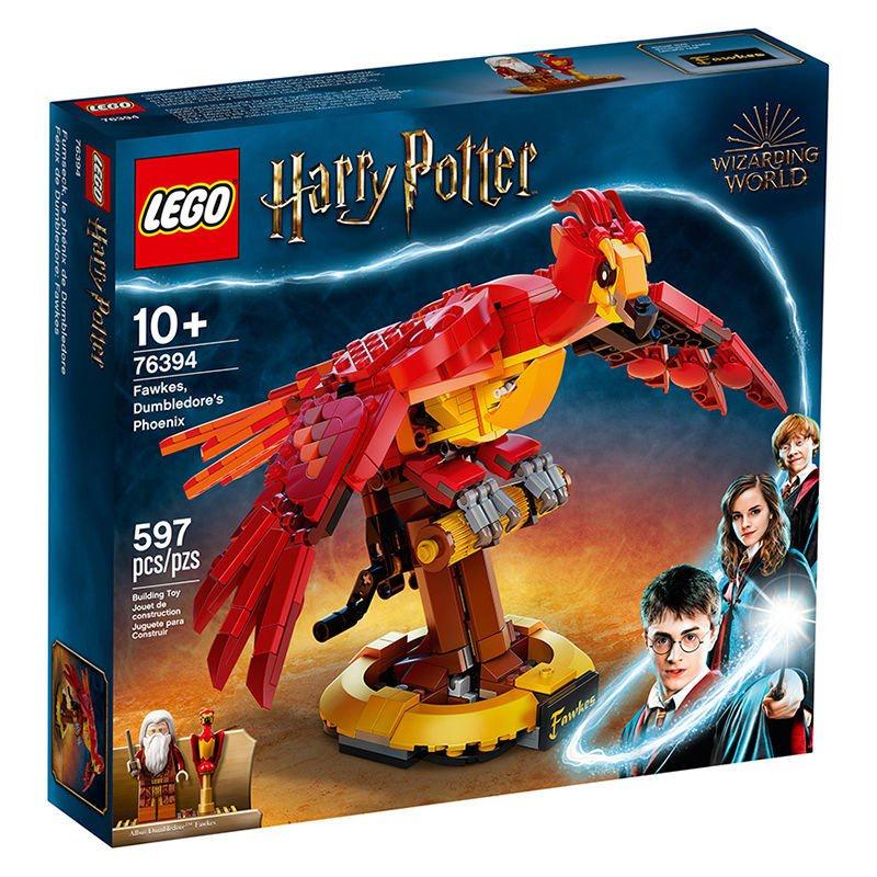 【親子必備】樂高6月新品LEGO鄧布利多的鳳凰福克斯76394哈利波特系列玩具積木【現貨秒發】 AvBA