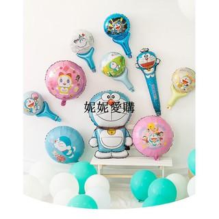 妮妮-哆啦A夢手持氣球棒 卡通鋁箔氣球棒 手拿棒氣球 生日派對佈置 嘉義市
