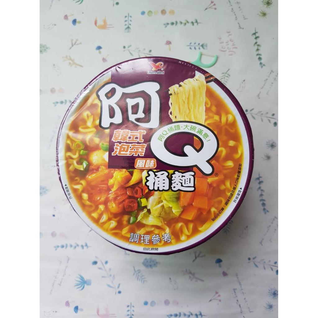 阿Q桶麵韓式泡菜風味102G(效期:2021年5月28號)市價35元特價32元