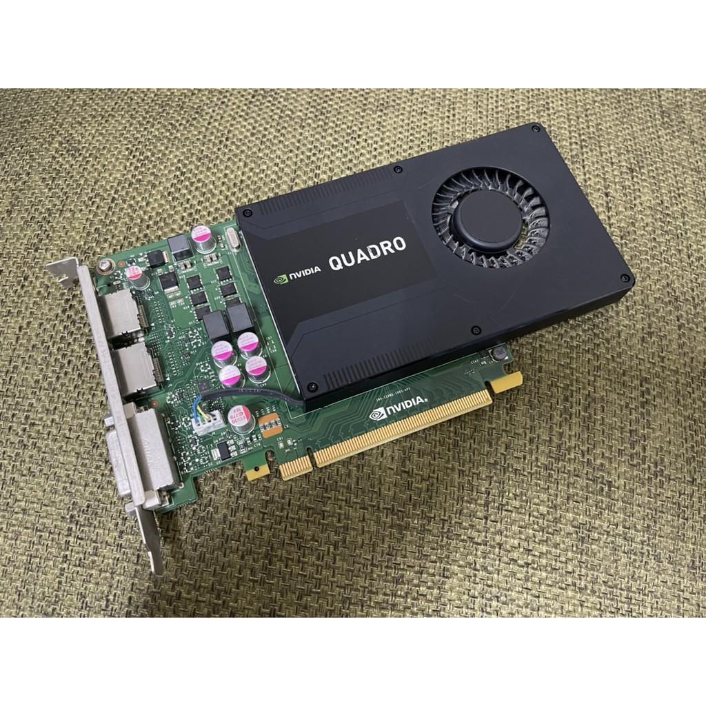 二手 繪圖卡NVIDIA Quadro K2000