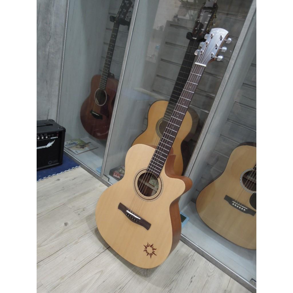 台南嘉軒樂器 Ayers ACS-NSW Guitar 小太陽 全單板木吉他 精選好琴 現貨優惠價 把握機會喔