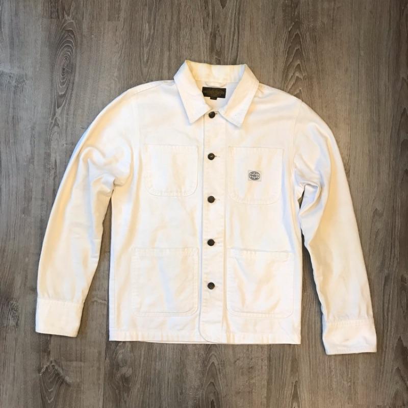 Provider刺繡工裝襯衫外套
