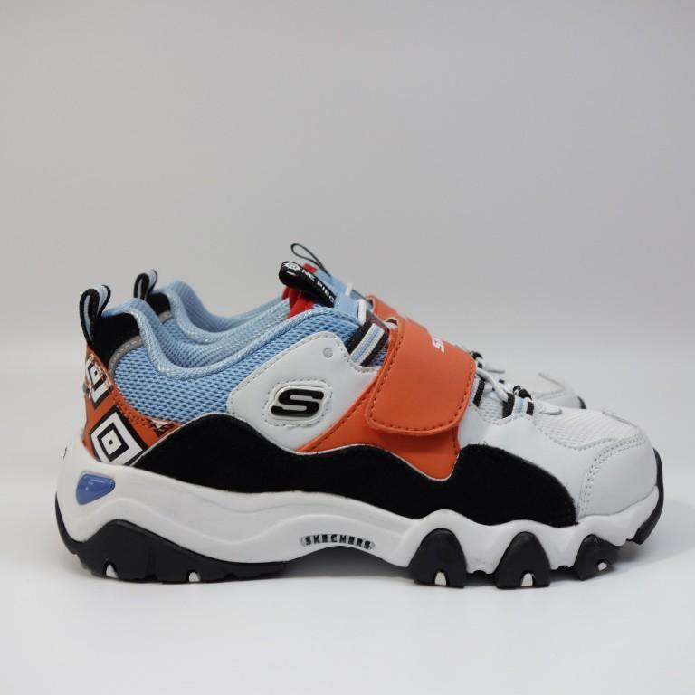 SKECHERS D'LITES 2 ONE PIECE 中童鞋 664211LWLB 航海王 海賊王【DELPHI】