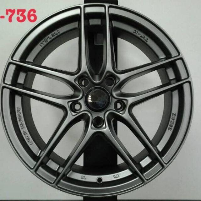 類ENKEI SC37 17吋5孔108鐵灰色鋁圈~V40 FOCUS MONDEO (88不是商品售價  請洽詢)