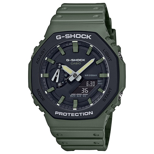 【CASIO】G-SHOCK農家橡樹2100八角腕錶 GA-2110SU-3A  台灣卡西歐保固一年