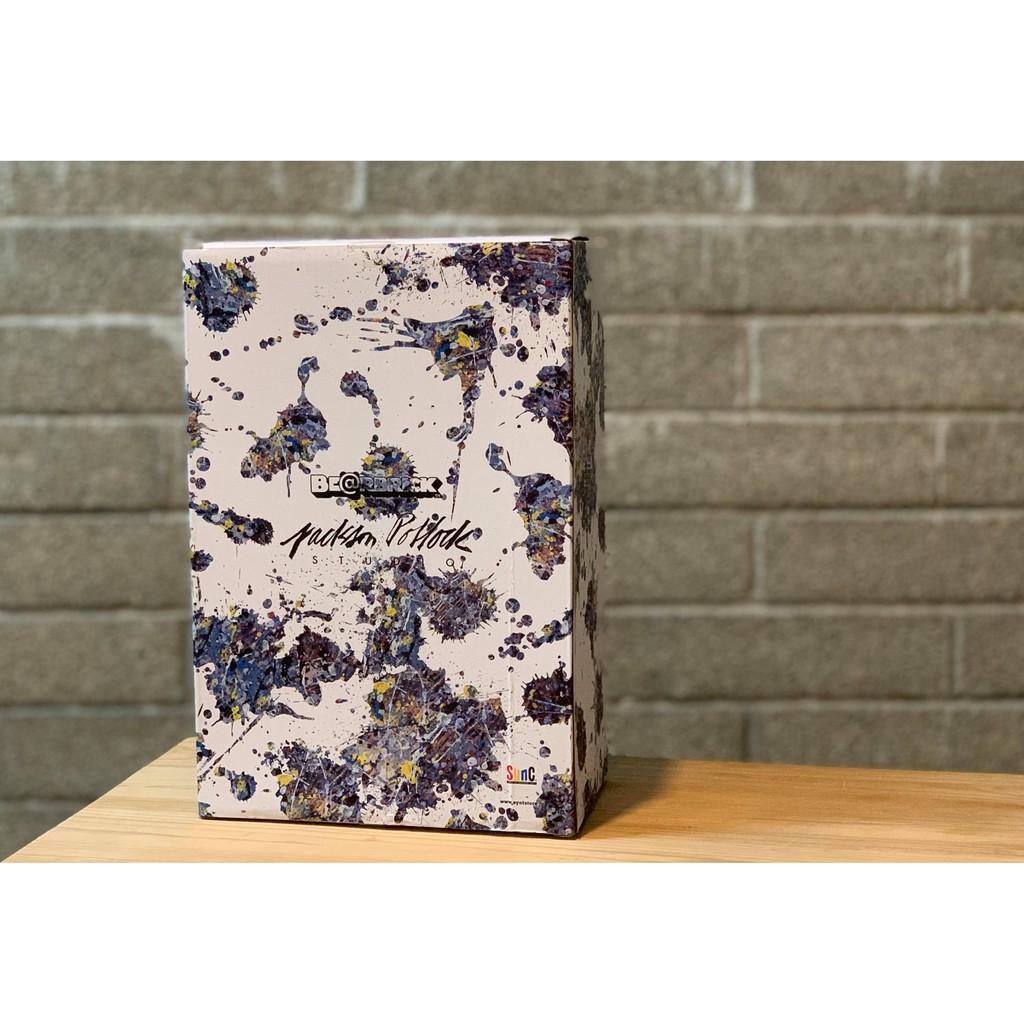 Be@rbrick Jackson Pollock Splash 400%+100% 潑墨 預購