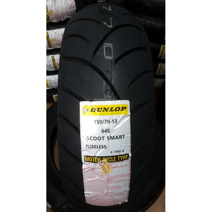 【車輪屋】DUNLOP 登祿普 Scoot Smart 聰明胎 150/70-13 $2300 含裝 自取優惠