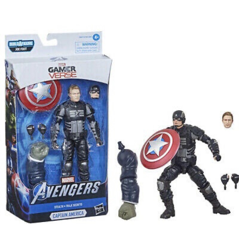 玩具主義[復仇者聯盟/Marvel Legends]6吋:美國隊長 電玩版Captain America 終局之戰