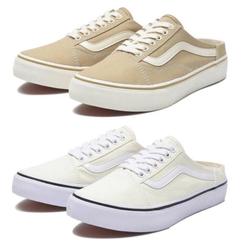 『HANSAN』買鞋送NIKE襪 VANS COMFORT OLD SKOOL MULE 懶人鞋 穆勒鞋 中性款