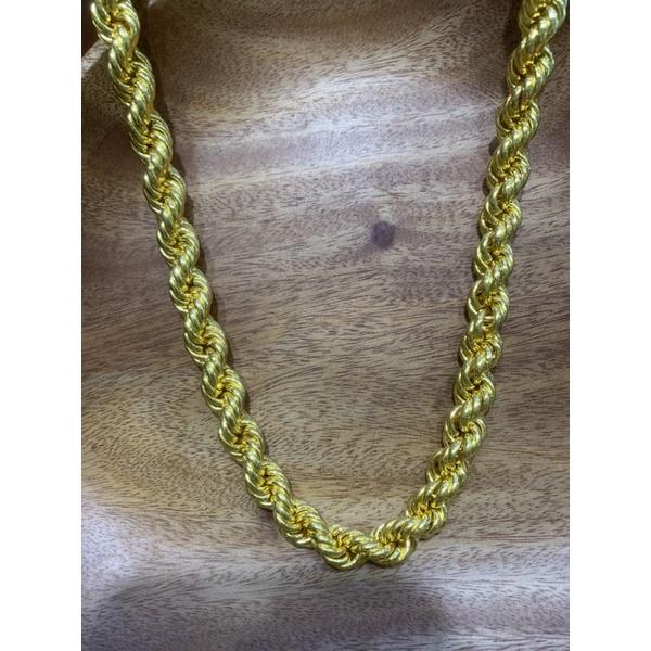《嘉鼎銀樓》黃金項鍊 全麻花項鍊6兩2.1尺(64公分)🔅下標前請聊聊金價與現貨金重🔅