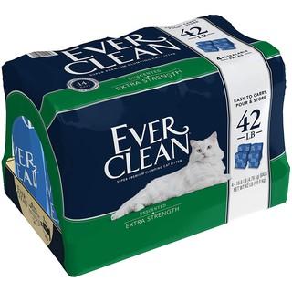現貨🔥藍鑽 貓砂 EVER CLEAN強效低敏結塊貓砂 超凝結貓砂 分售袋裝砂10.5磅/ 包 4.76公斤 礦砂 臺南市