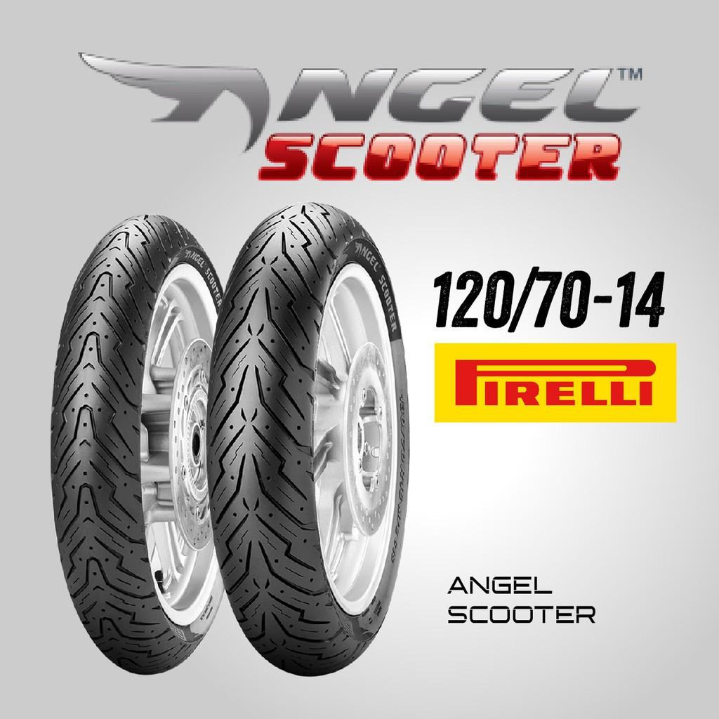 【熊本二輪】倍耐力 ANGEL SCOOTER 天使胎 120/70-14 前胎 機車輪胎