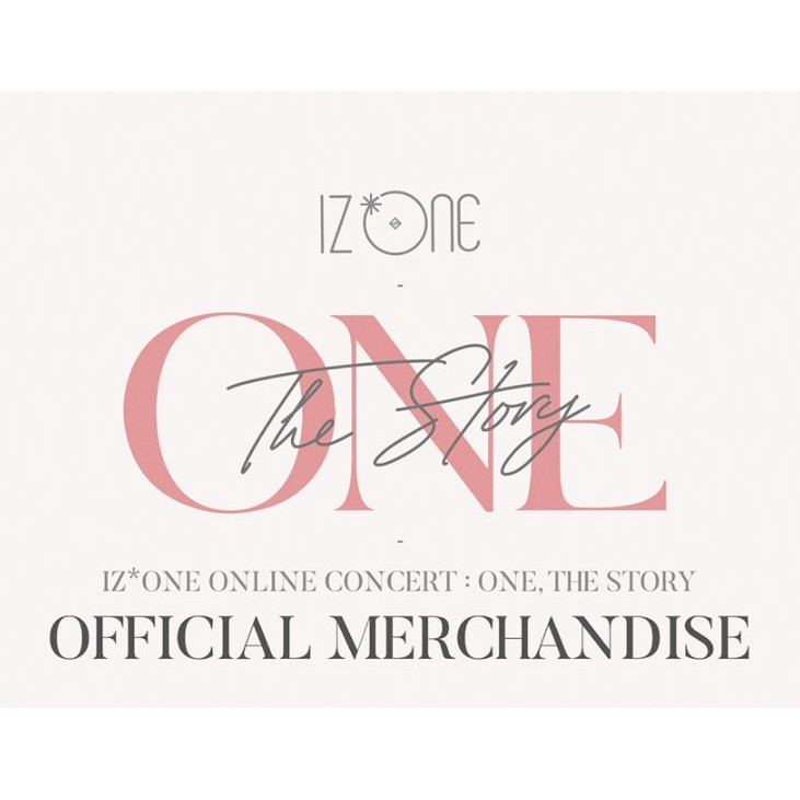 【JOTAJOA】(預購)IZ*ONE ONE, THE STORY 線上演唱會周邊 IZONE MD 滿額贈 韓國代購