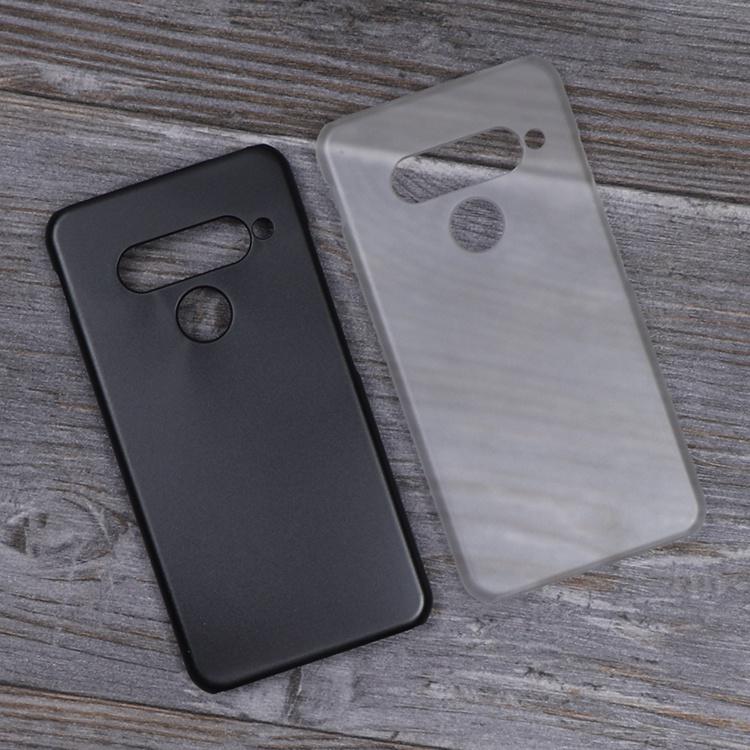 現貨﹉℗✠半包硬殼 LG G8s透明磨砂殼 lg g8 thinq手機殼 隱形盾薄pc保護套