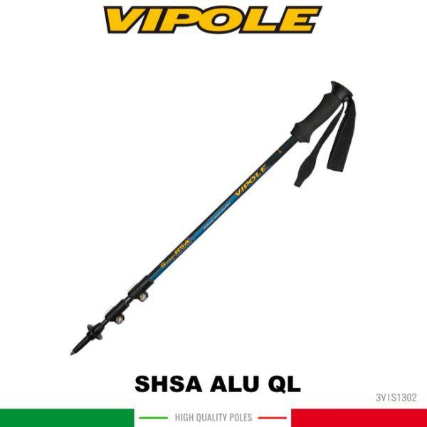 【VIPOLE 義大利 雙快調油壓避震登山杖《藍》】S-1302/手杖/爬山/健行杖/悠遊山水