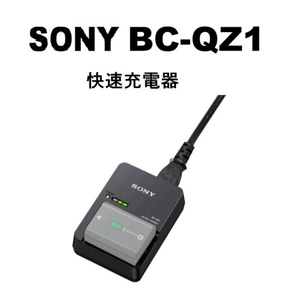 SONY BC-QZ1 原廠 【宇利攝影器材】 電池充電器 FZ100專用 QZ1 公司貨